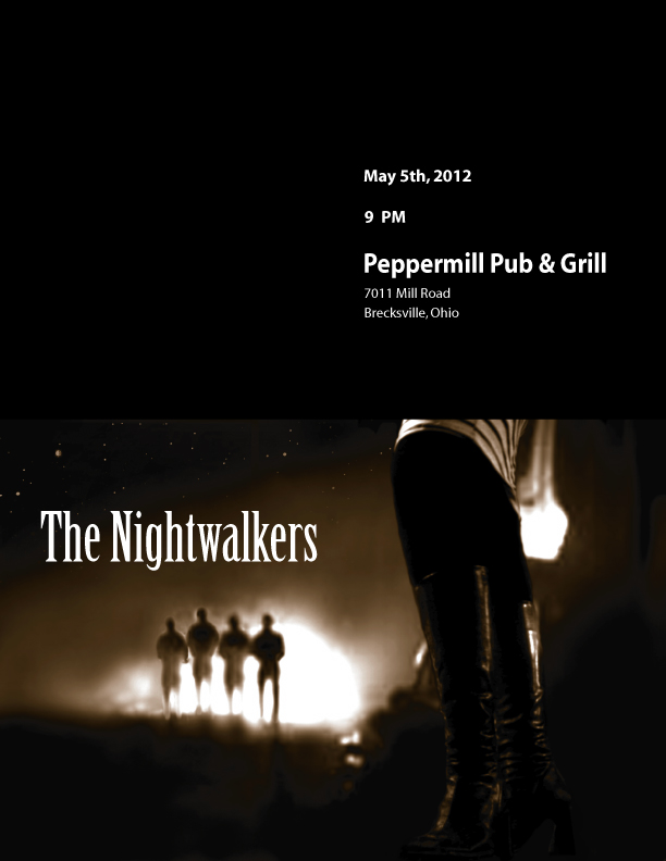 The Nightwalkers at the Pepper Mill Pub